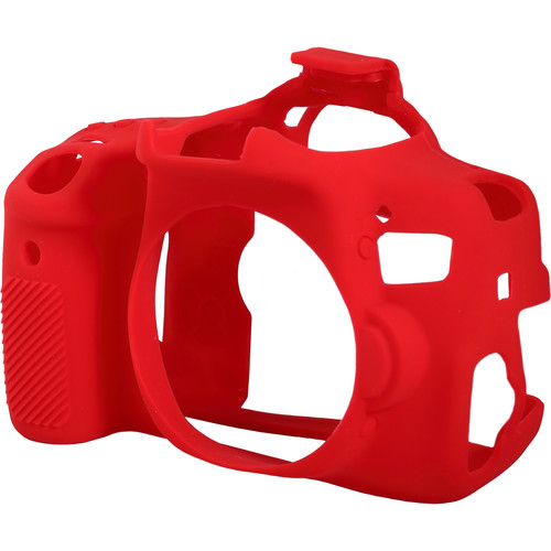 easyCover Silicone Protection Cover for Canon EOS Rebel T6i (Red)