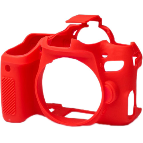 easyCover Silicone Protection Cover for Canon EOS 77D (Red)