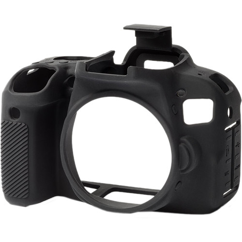 easyCover Silicone Protection Cover for Canon T7i (Black)