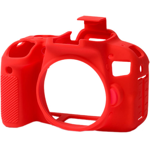 easyCover Silicone Protection Cover for Canon T7i (Red)