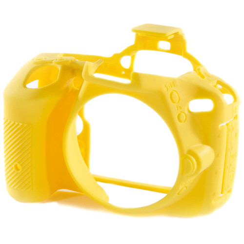 easyCover Silicone Protection Cover for Nikon D5500 and D5600 (Yellow)