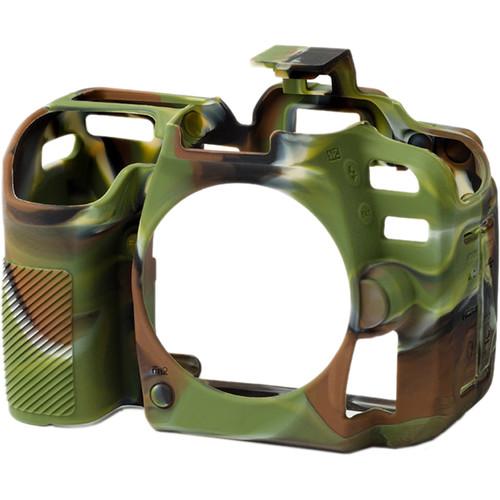 easyCover Silicone Protection Cover for Nikon D7500 (Camo)