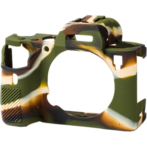 easyCover Silicone Protection Cover for Sony A9, A7R II, A7R III (Camouflage)