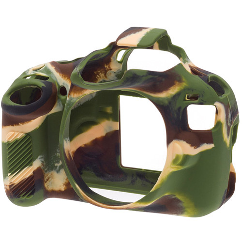 easyCover Silicone Protection Cover for Canon EOS Rebel T5 (Camouflage)
