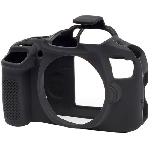 easyCover Silicone Protection Cover for Canon T6/T7 (Black)