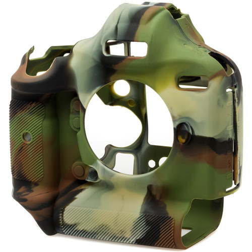 easyCover Silicone Protection Cover for Canon EOS-1Dx & 1Dx Mark II (Camouflage)