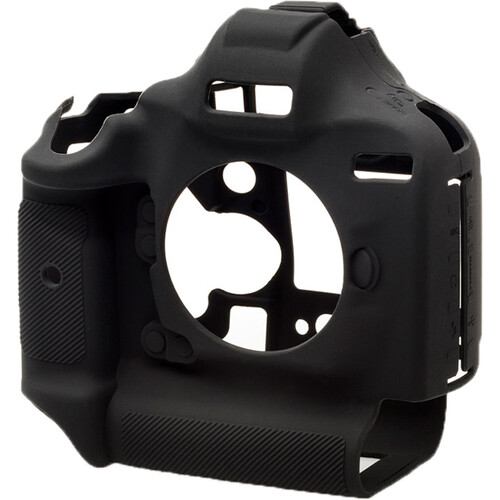easyCover Silicone Protection Cover for Canon EOS 1Dx, 1Dx Mark II, Mark III (Black)