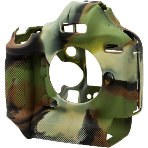 easyCover Silicone Protection Cover for Canon EOS 1Dx, 1Dx Mark II, Mark III (Camo)