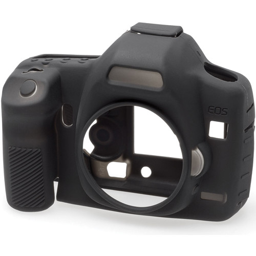 easyCover Silicone Protection Cover for Canon EOS 5D Mark II (Black)