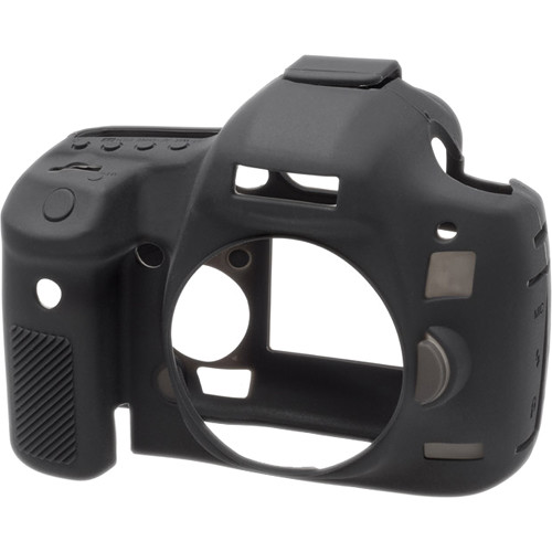 easyCover Silicone Protection Cover for Canon EOS 5D Mark III, 5DS & 5DS R (Black)