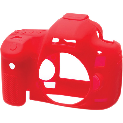 easyCover Silicone Protection Cover for Canon EOS 5D Mark III, 5DS & 5DS R (Red)