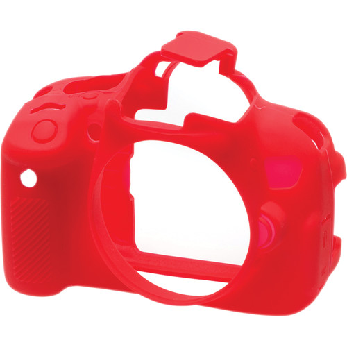 easyCover Silicone Protection Cover for Canon EOS Rebel T4i, T5i (Red)