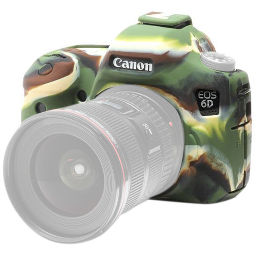 easyCover Silicone Protection Cover for Canon EOS 6D (Camouflage)