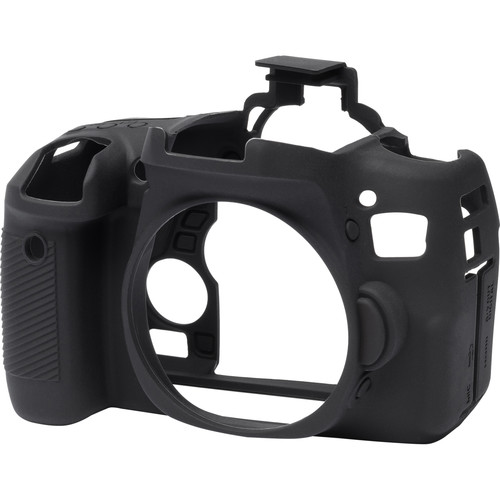 easyCover Silicone Protection Cover for Canon EOS Rebel T6s (Black)