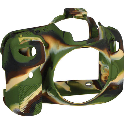 easyCover Silicone Protection Cover for Canon EOS 7D Mark II (Camouflage)