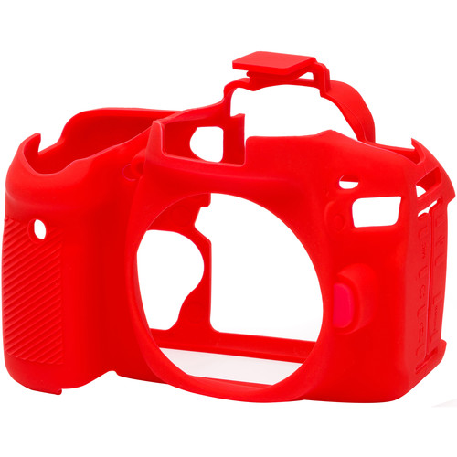 easyCover Silicone Protection Cover for Canon 80D (Red)