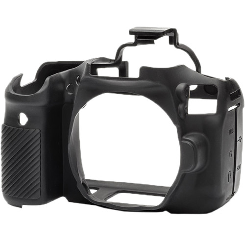 easyCover Silicone Protection Cover for Canon 90D (Black)