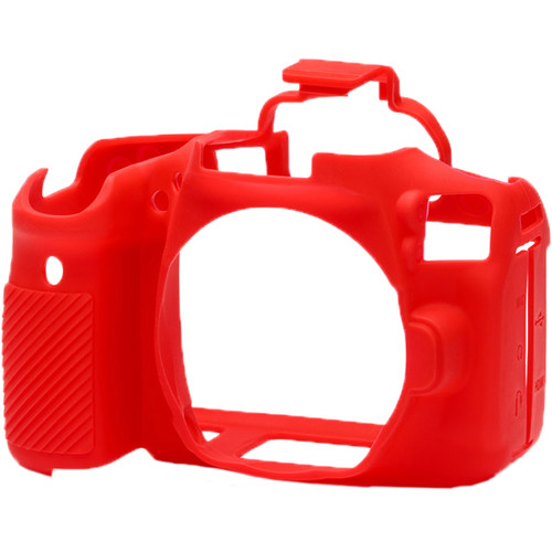 easyCover Silicone Protection Cover for Canon 90D (Red)
