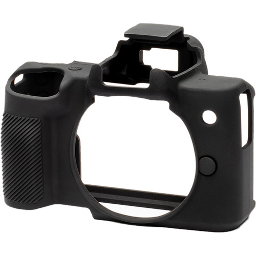 easyCover Silicone Protection Cover for Canon M50 (Black)