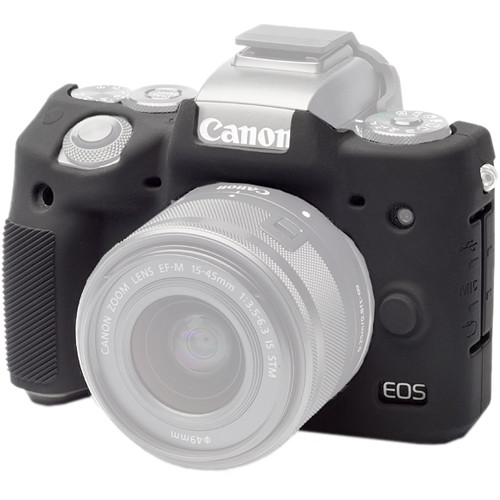 easyCover Silicone Protection Cover for Canon EOS M5 (Black)