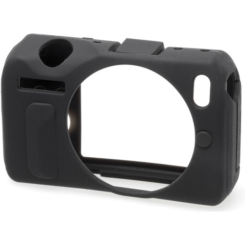 easyCover Silicone Protection Cover for Canon EOS M (Black)