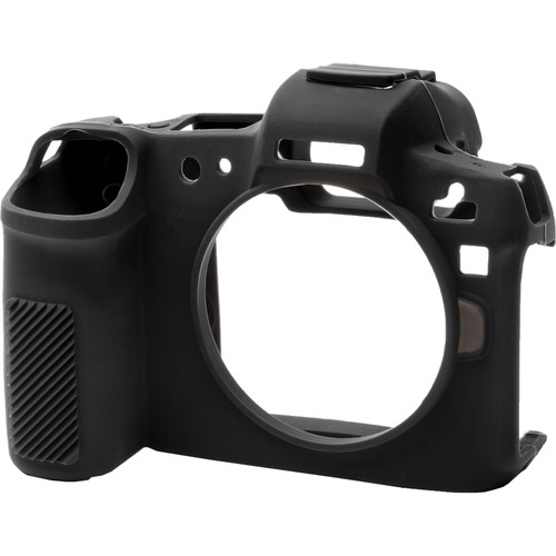 easyCover Silicone Protection Cover for Canon R (Black)