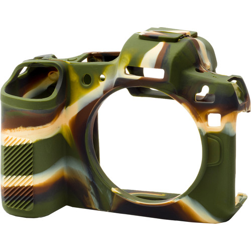 easyCover Silicone Protection Cover for Canon R (Camouflage)