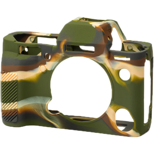 easyCover Silicone Protection Cover for Fuji XT-3 (Camouflage)