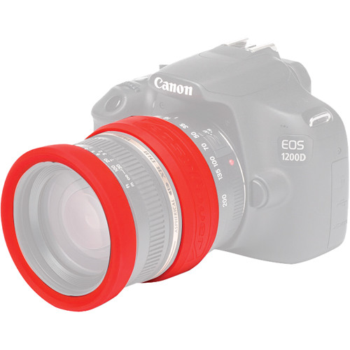 easyCover 62mm Lens Rim (Red)