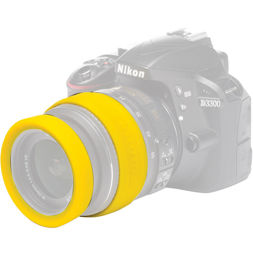 easyCover 62mm Lens Rim (Yellow)