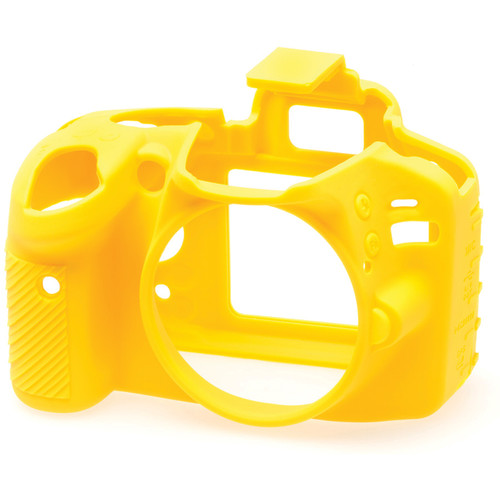 easyCover Silicone Protection Cover for Nikon D3200 (Yellow)