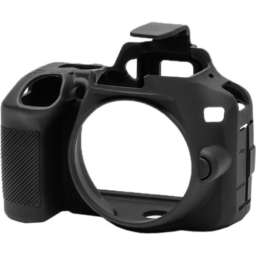 easyCover Silicone Protection Cover for Nikon D3500 (Black)