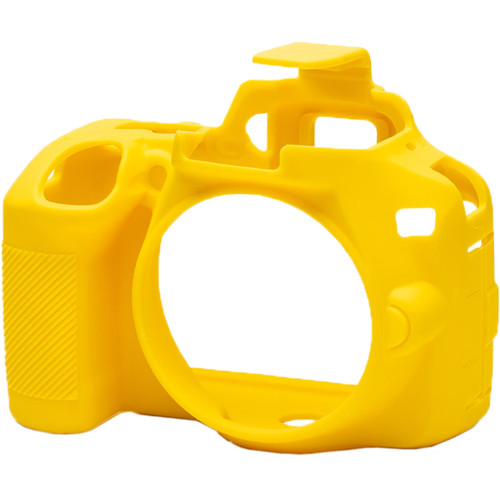 easyCover Silicone Protection Cover for Nikon D3500 (Yellow)