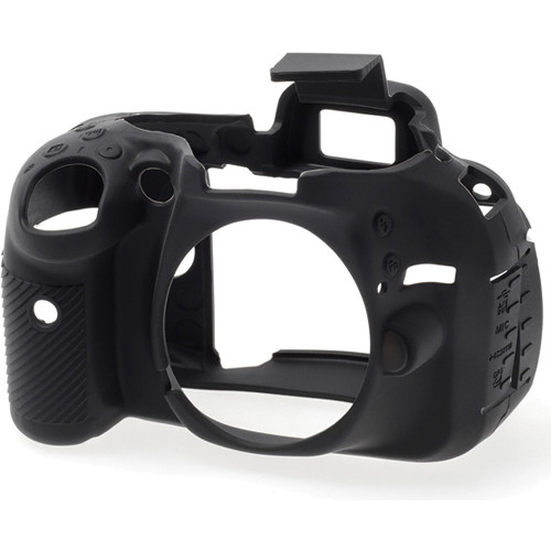 easyCover Silicone Protection Cover for Nikon D5200 (Black)
