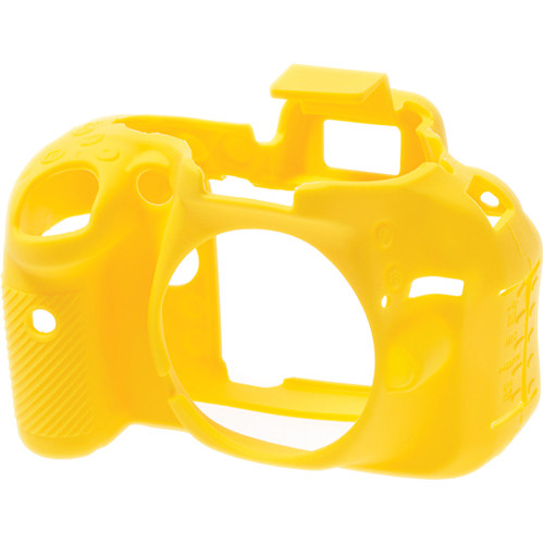 easyCover Silicone Protection Cover for Nikon D5200 (Yellow)