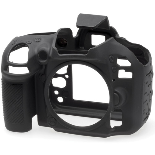easyCover Silicone Protection Cover for Nikon D600 and D610 (Black)