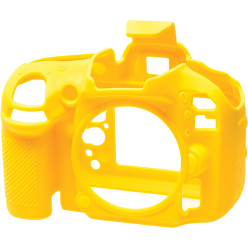 easyCover Silicone Protection Cover for Nikon D600, D610 (Yellow)