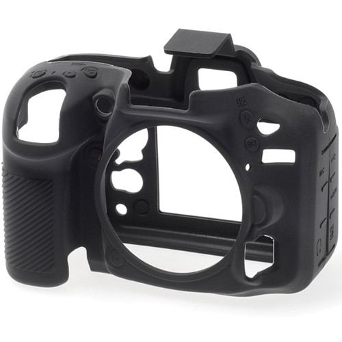 easyCover Silicone Protection Cover for Nikon D7100 and D7200 (Black)