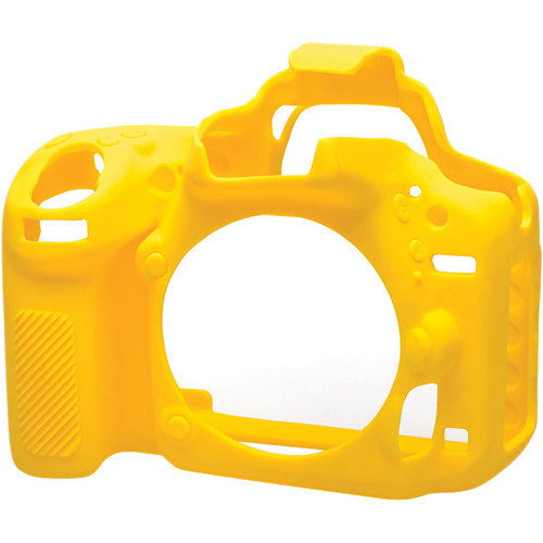 easyCover Silicone Protection Cover for Nikon D750 (Yellow)