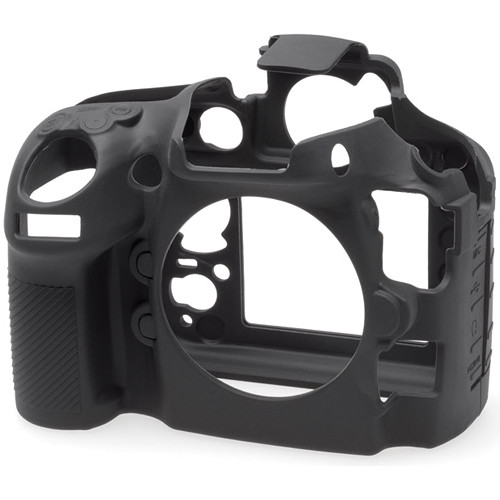 easyCover Silicone Protection Cover for Nikon D800 and D800E (Black)