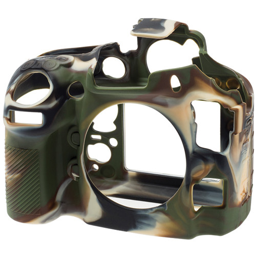 easyCover Silicone Protection Cover for Nikon D800, D800E (Camouflage)