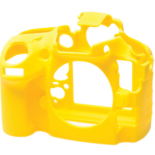 easyCover Silicone Protection Cover for Nikon D800 and D800E (Yellow)
