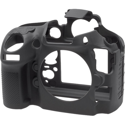 easyCover Silicone Protection Cover for Nikon D810 (Black)
