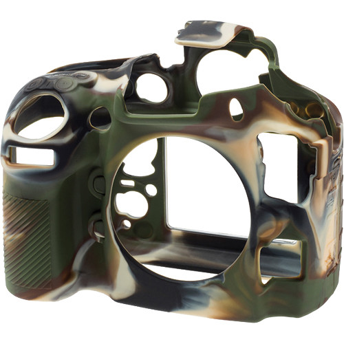 easyCover Silicone Protection Cover for Nikon D810 (Camouflage)