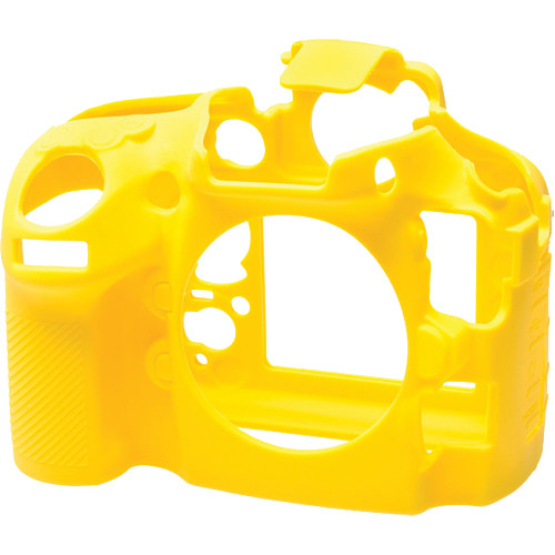 easyCover Silicone Protection Cover for Nikon D810 (Yellow)