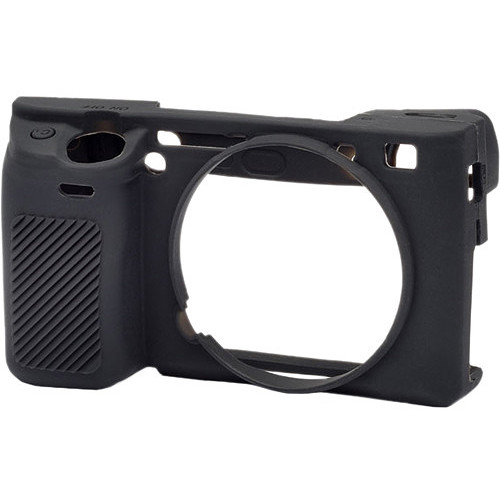 easyCover Silicone Protection Cover for Sony Alpha a6300 & a6000 (Black)