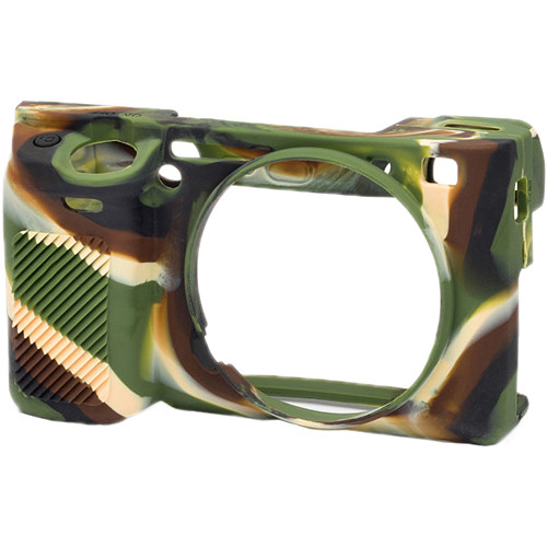 easyCover Silicone Protection Cover for Sony Alpha a6300 (Camouflage)