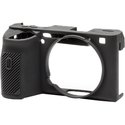 easyCover Silicone Protection Cover for Sony a6600 (Black)