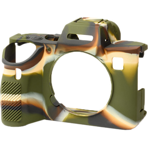 easyCover Silicone Protection Cover for Sony a9 II, a7R IV (Camouflage)