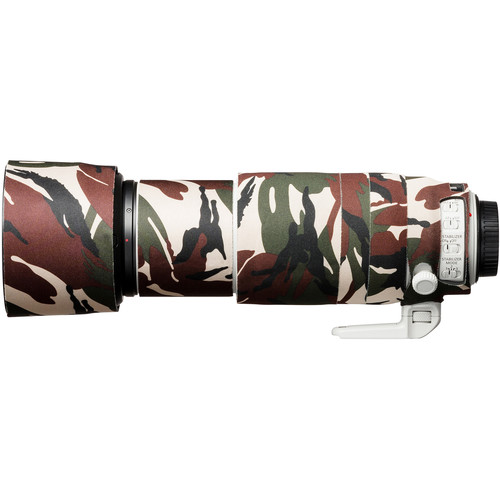 easyCover Lens Oak Neoprene Cover for Canon EF 100-400mm f/4.5-5.6L IS II USM V2 (Green Camouflage)